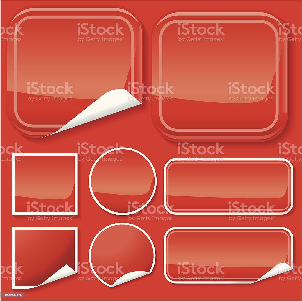 Red peely's royalty-free red peelys stock vector art & more images of business