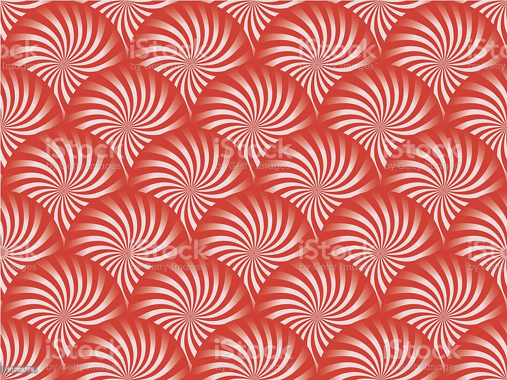 Red Peppermint Background royalty-free stock vector art