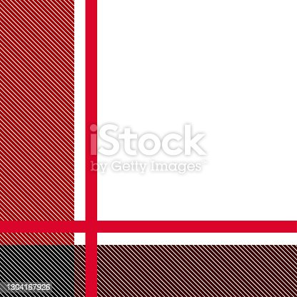 istock Red Plaid, checkered, tartan seamless pattern suitable for fashion textiles and graphics 1304167926