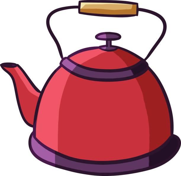 Kettle Clip Art ~ Royalty free asian tea kettle cartoons clip art vector