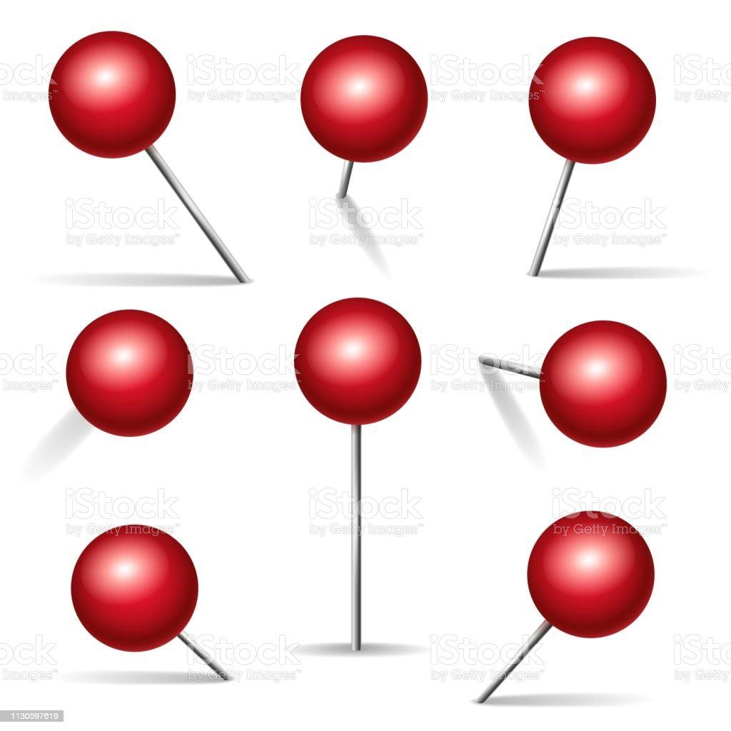 Punaise Rouge Vecteurs Libres De Droits Et Plus D Images Vectorielles De Affaires Istock
