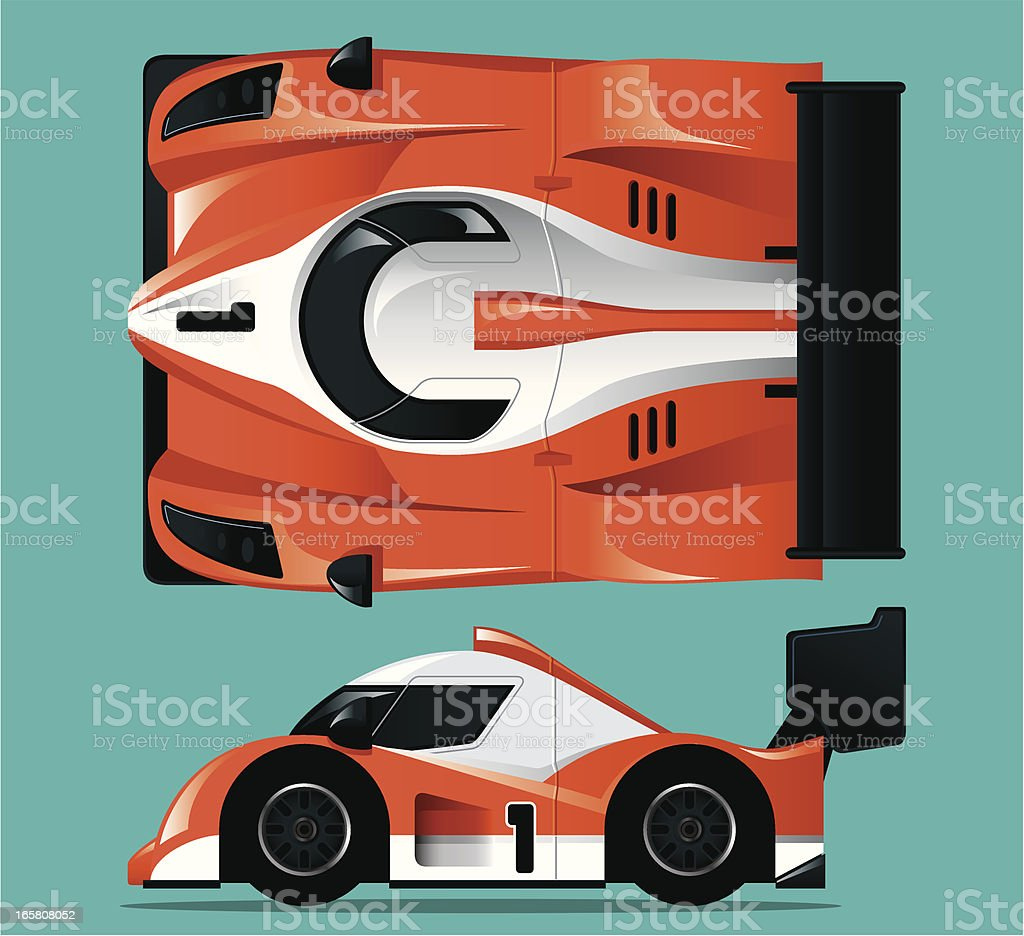 Red Race Car royalty-free red race car stock vector art & more images of auto racing
