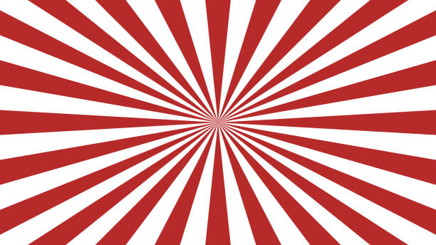Red rays background. Sunburst abstract texture. Simple design vector illustration. Red rays background. Sunburst abstract texture. Simple design vector illustration. spiral stock illustrations