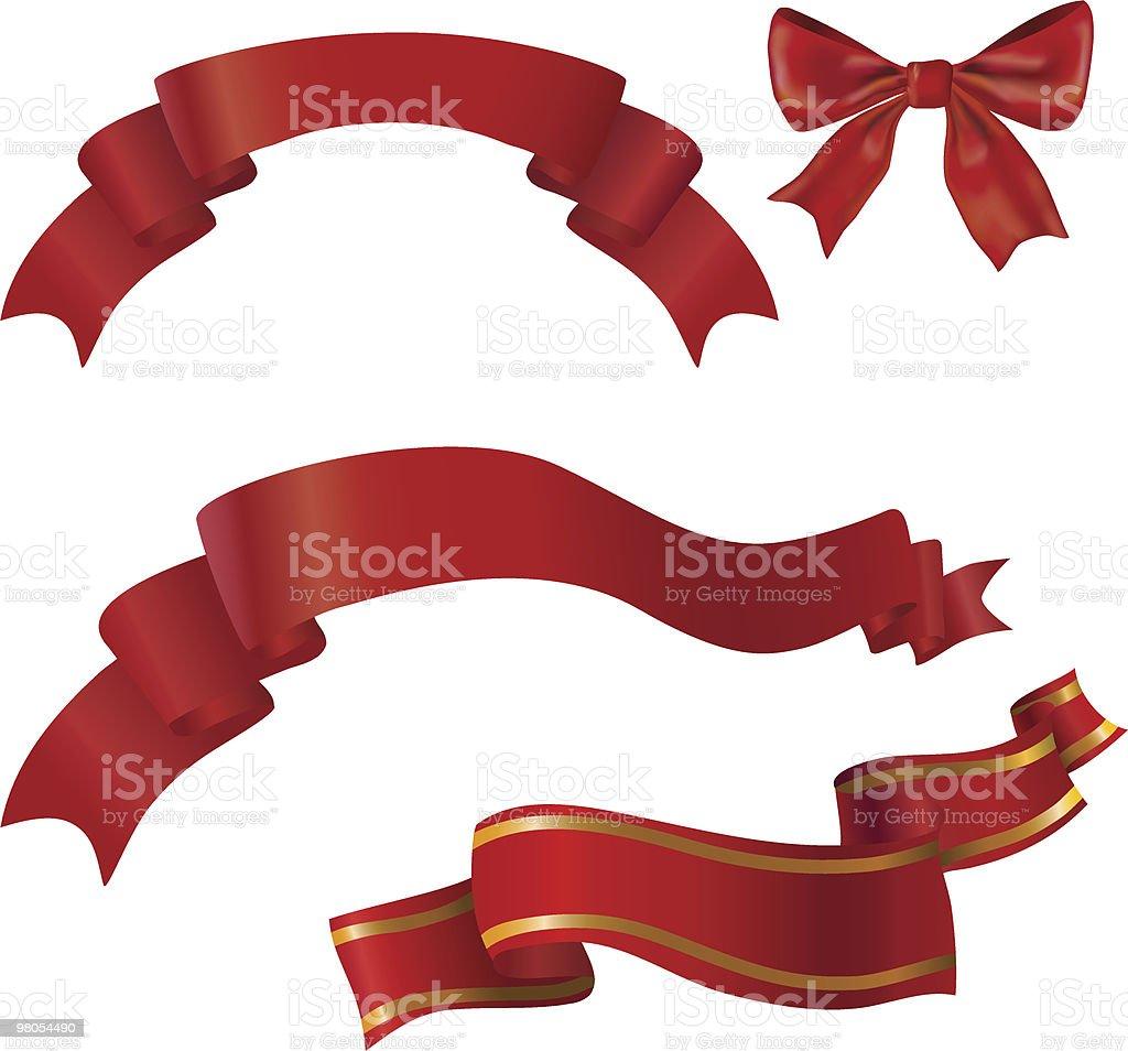 red  ribbon and bow royalty-free red ribbon and bow stock vector art & more images of award ribbon