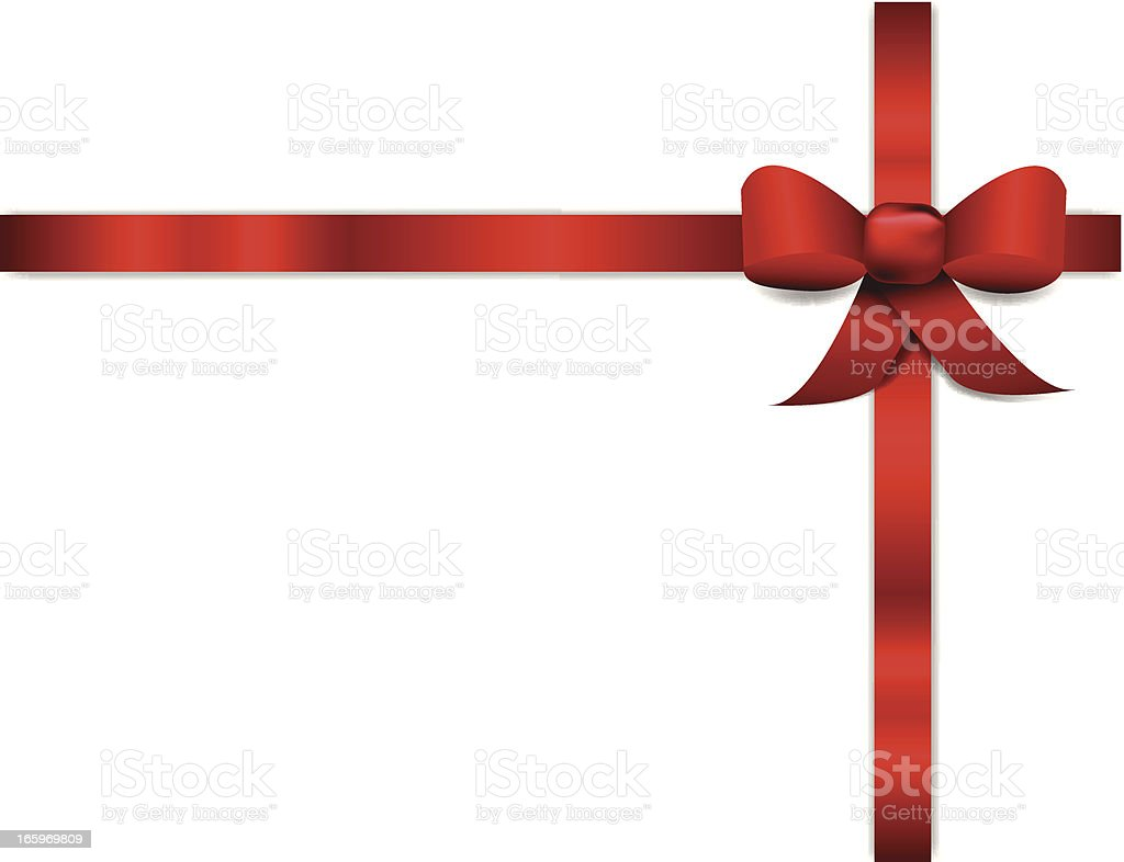 Red Ribbon Banner royalty-free stock vector art