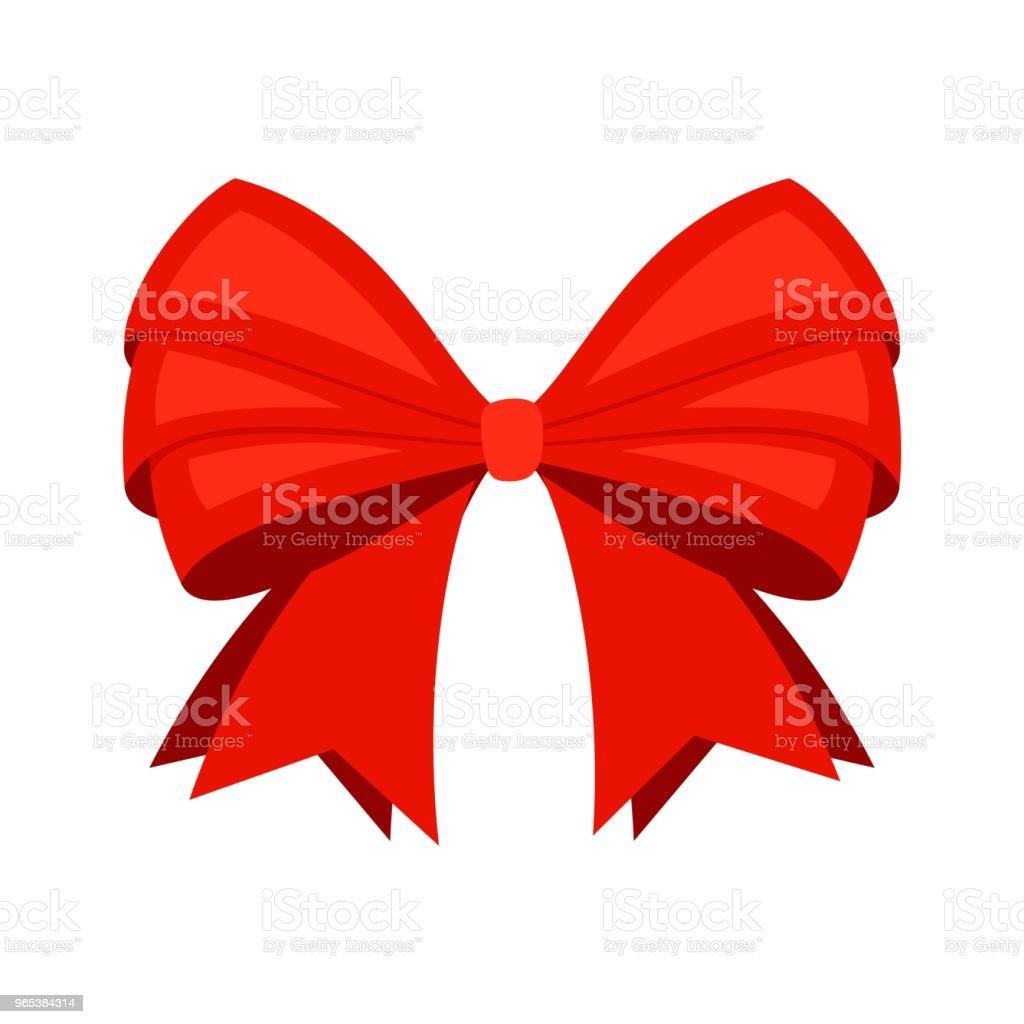 Red ribbon bowknot red ribbon bowknot - stockowe grafiki wektorowe i więcej obrazów abstrakcja royalty-free