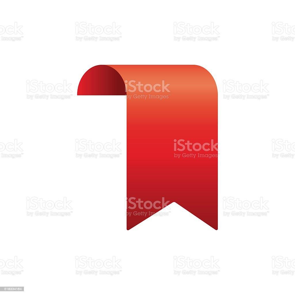 red ribbon template stock vector art more images of award ribbon