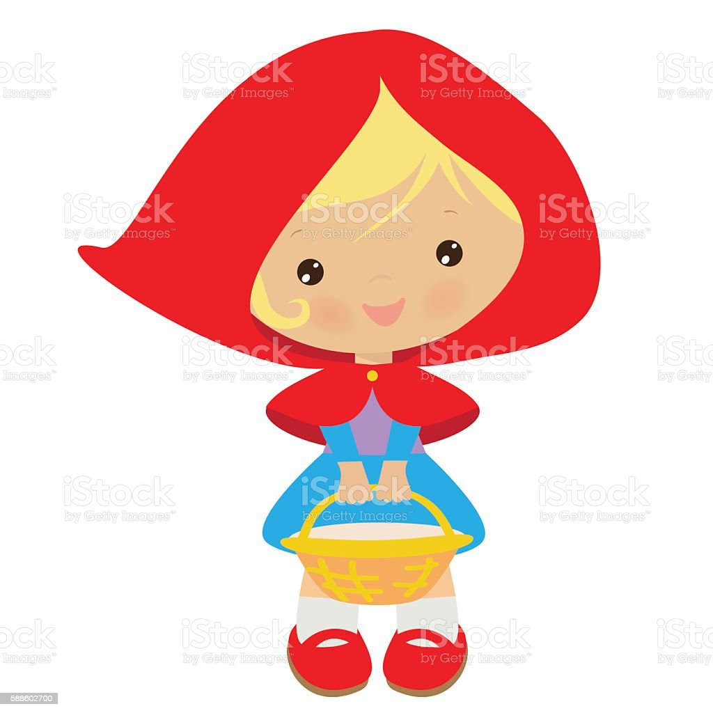 royalty free red riding hood silhouettes clip art vector images rh istockphoto com red riding hood characters clipart little red riding hood clipart