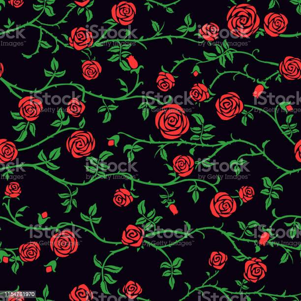 Red rose floral seamless pattern with climbing curly flower green vector id1154761970?b=1&k=6&m=1154761970&s=612x612&h=ez6en5oeauab45xzm698ozaipn54f7g7uexaehxh71i=