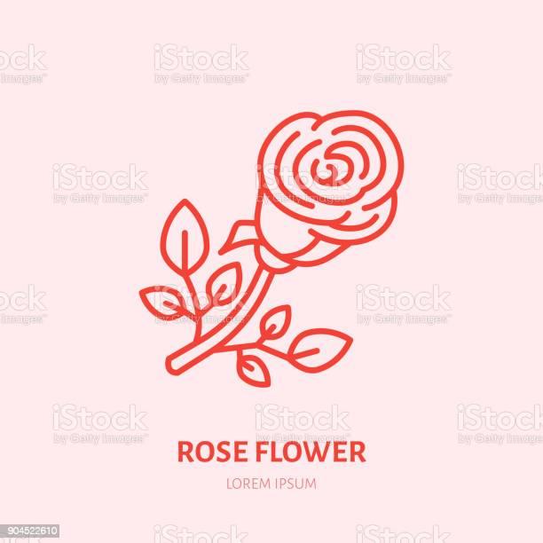 Red rose illustration flat line icon flower shop valentines day sign vector id904522610?b=1&k=6&m=904522610&s=612x612&h=efqg4jahkgdhehb 7yexuun2kxberjp0k140pwdgft0=