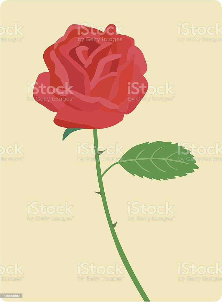 Rosa Vermelha Arte Vetorial De Stock E Mais Imagens De Amor