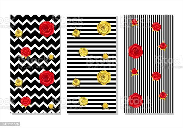 Red roses and golden roses on geometrical striped background vector id612244870?b=1&k=6&m=612244870&s=612x612&h=vkpvpd1g59 upg7n38s5x 7l6xmruag1vqupuqrq9nu=