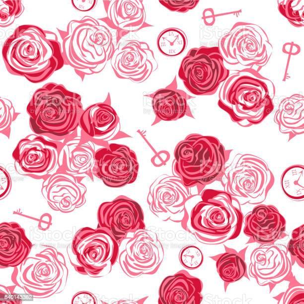Red roses and white roses key and clock on white background vector id840143362?b=1&k=6&m=840143362&s=612x612&h=qk64tkiniqno5m8aaq0nyhltkz6v6v k cwbvwjffpm=
