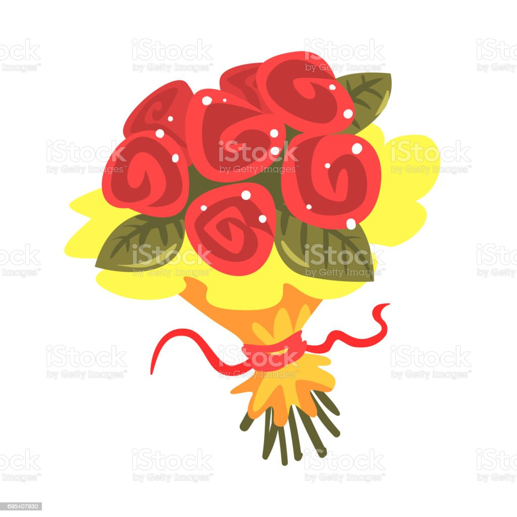 Red roses bouquet cartoon vector illustration stock vector art red roses bouquet cartoon vector illustration royalty free red roses bouquet cartoon vector illustration stock izmirmasajfo Choice Image