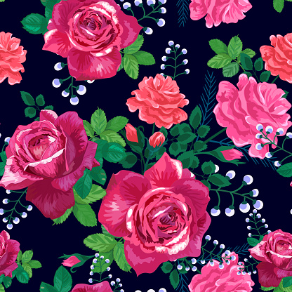 빨간 장미 검은색 잎 0명에 대한 스톡 벡터 아트 및 기타 이미지
