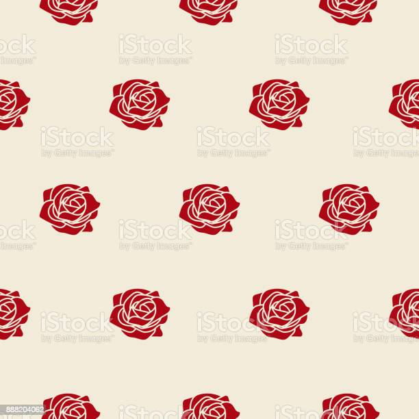 Red roses on beige fine vector seamless pattern vector id888204062?b=1&k=6&m=888204062&s=612x612&h=ggl fefdy9cc1rhpmaeuw5phyj oatnz 5igj6dtbxm=