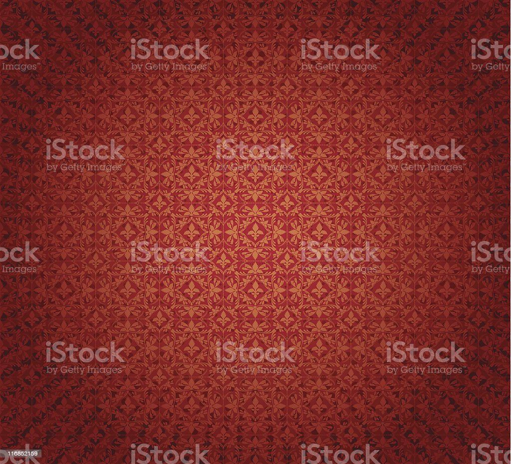 Red Rug royalty-free stock vector art