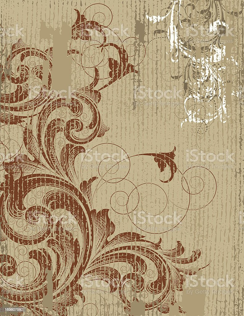 Red Scroll Grunge royalty-free red scroll grunge stock vector art & more images of abstract