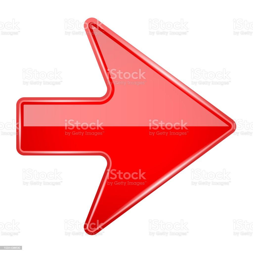赤い光沢のある 3 D 矢印 3dのベクターアート素材や画像を多数ご用意