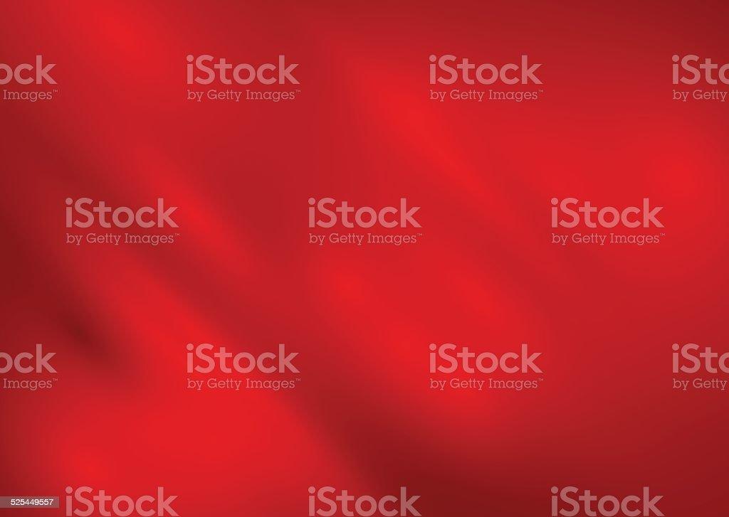 Red silk background vector vector art illustration
