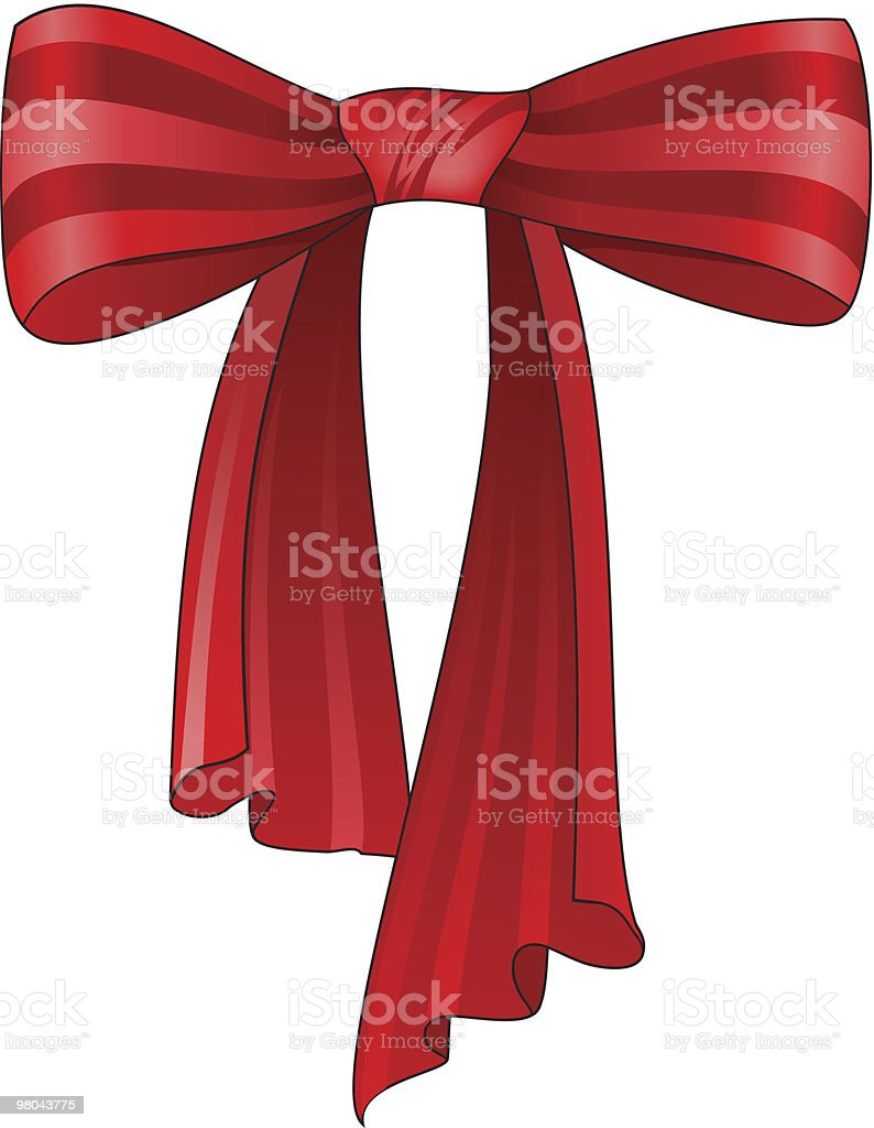 Red Silk Bow royalty-free red silk bow stock vector art & more images of color image