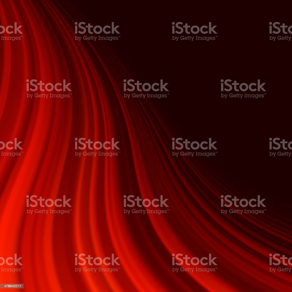 Red smooth twist light lines. EPS 10 royalty-free stock vector art