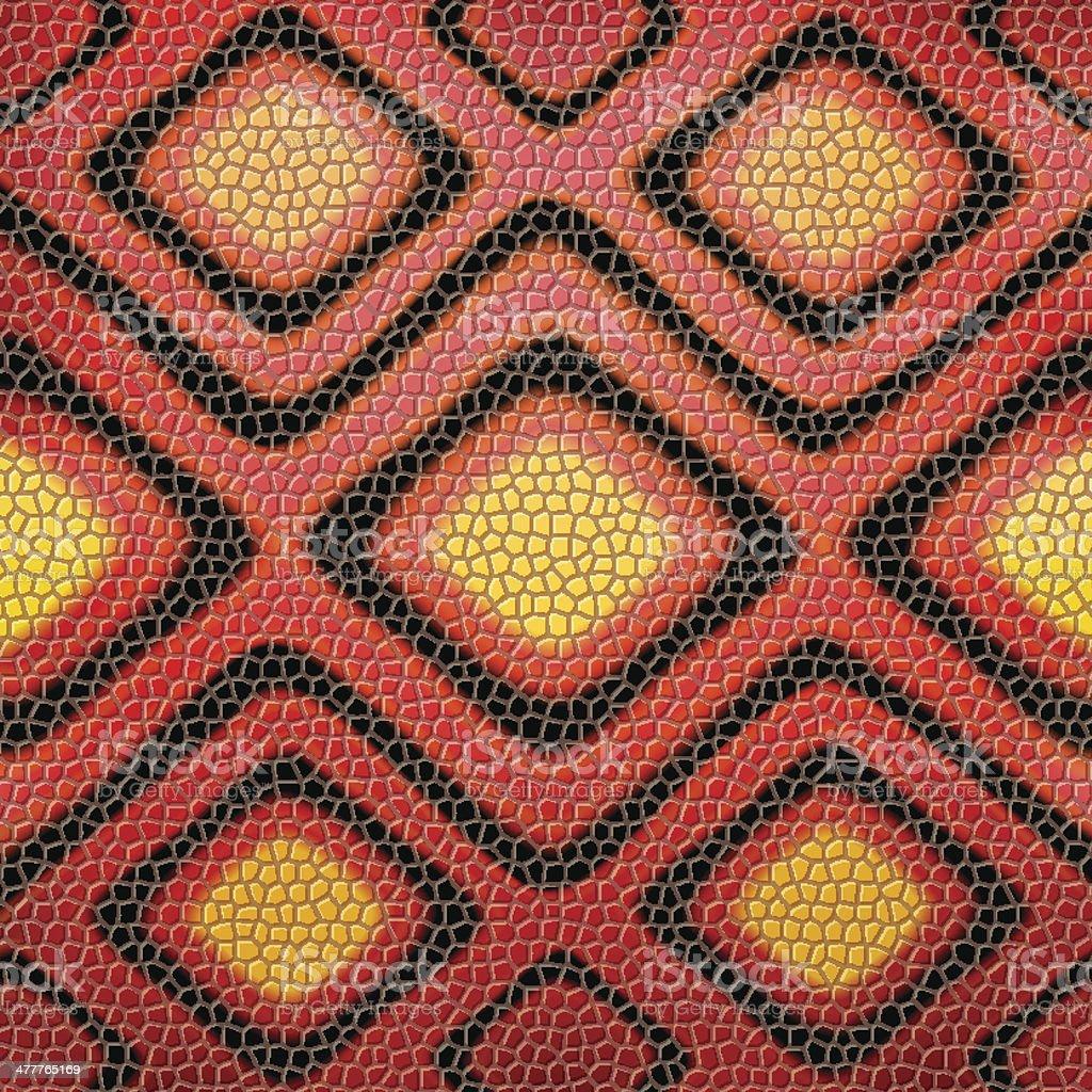 red snakeskin background vector art illustration