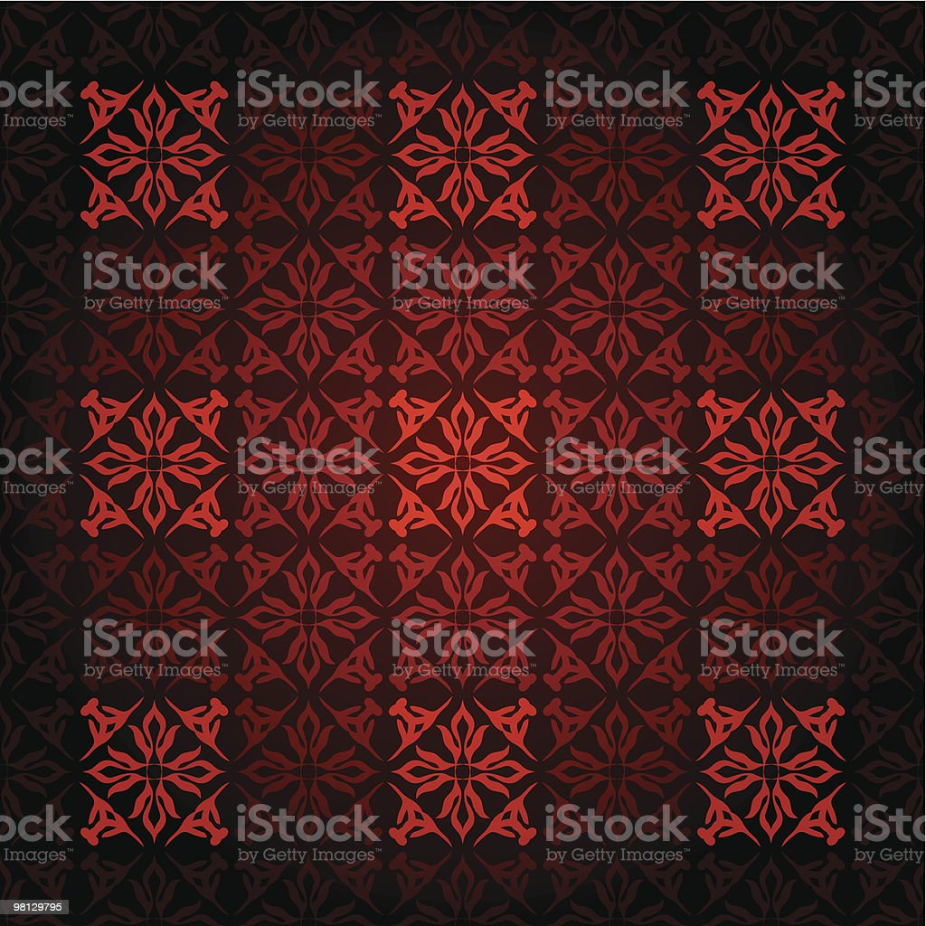 red square victorian royalty-free red square victorian stock vector art & more images of abstract