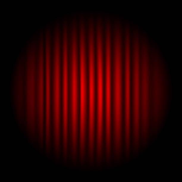 illustrazioni stock, clip art, cartoni animati e icone di tendenza di red stage curtain - sipario