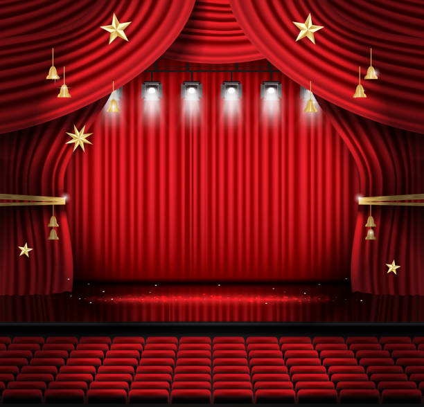 Light Up Theater: Royalty Free Folded Chair Clip Art, Vector Images