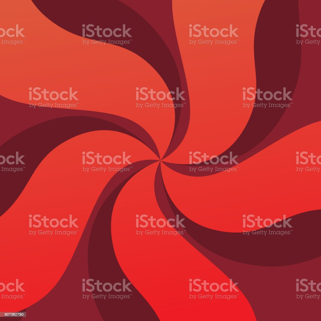 Red Swirl Background - Royalty-free Abstract stock vector