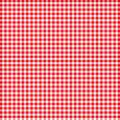 Red tablecloths patterns on the background