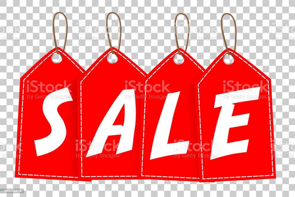 red Tag, Sale red tag sale - stockowe grafiki wektorowe i więcej obrazów biznes royalty-free