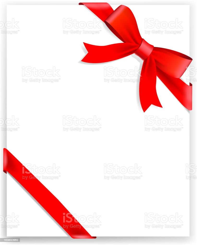 Red tape and bow royalty-free red tape and bow stock vector art & more images of backgrounds