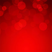 Red tone blur bokeh light background