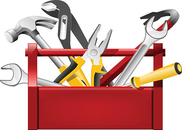 Royalty Free Red Toolbox Clip Art, Vector Images ...