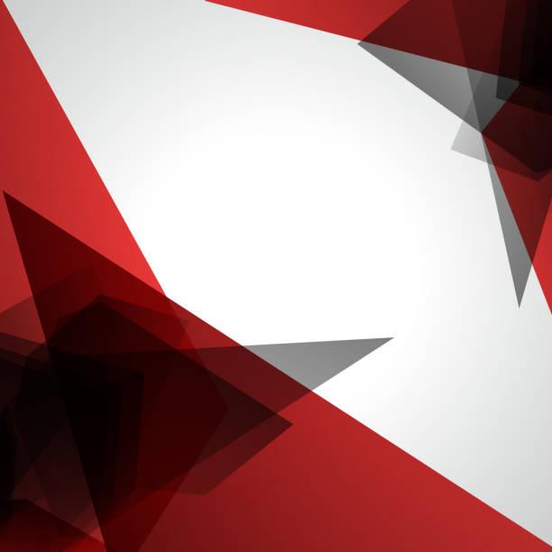 stockillustraties, clipart, cartoons en iconen met red transparency pattern background - triangel
