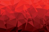 Red Triangle Polygon Pattern. Global Colors used, so you can easily change the base colors with just a few clicks. The colors in the .eps-file are in RGB. Transparencies used. Included files are EPS (v10) and Hi-Res JPG (5208 x 3472 px).