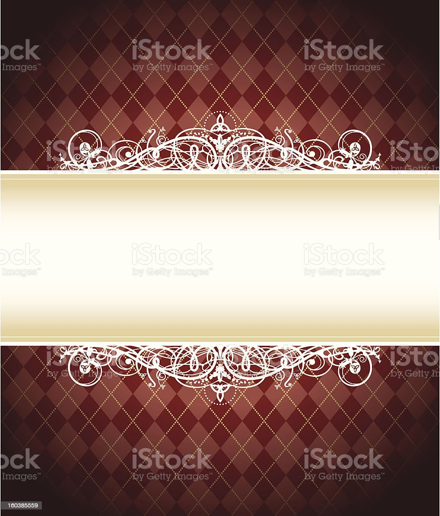 Red Trinity Background royalty-free stock vector art