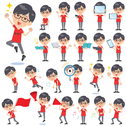 red Tshirt Glasse men_2