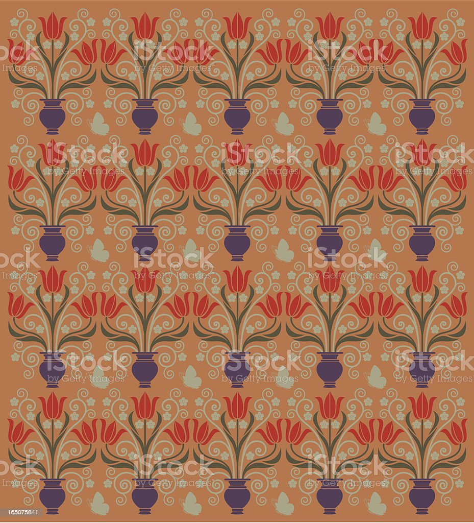 Red tulip pattern royalty-free red tulip pattern stock vector art & more images of 1920-1929