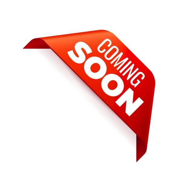 bildbanksillustrationer, clip art samt tecknat material och ikoner med röd vektor banner ribbon på vit bakgrund, hörn band. - product image