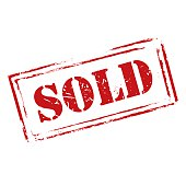 istock Red vector grunge stamp SOLD 537550177