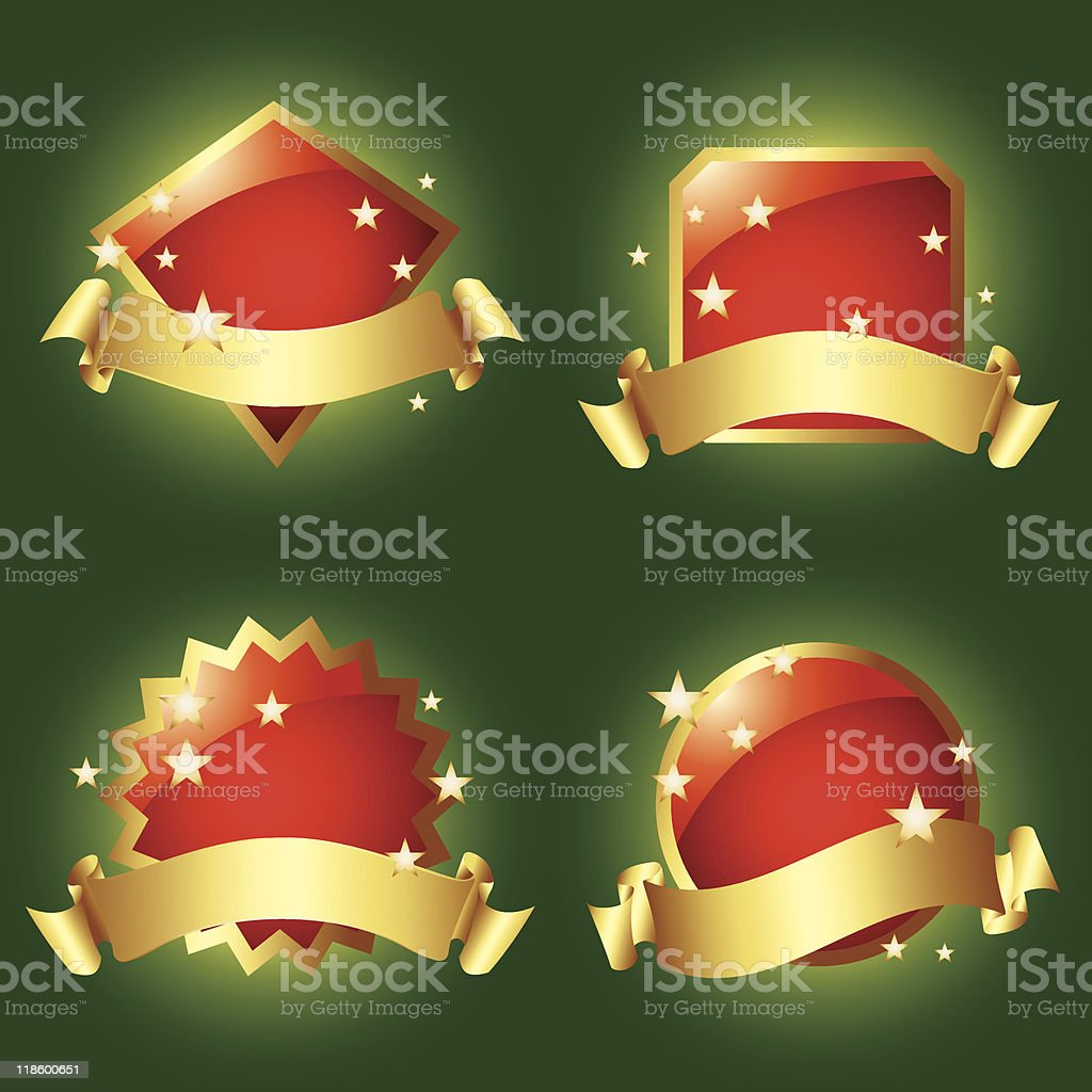 Red Vector Labels royalty-free red vector labels stock vector art & more images of arranging