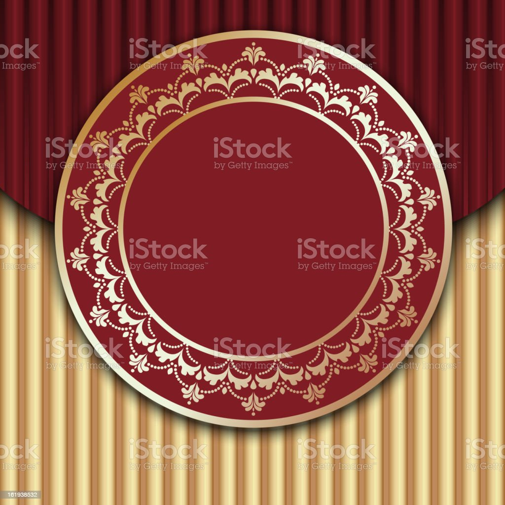 Red Vintage Design royalty-free red vintage design stock vector art & more images of abstract