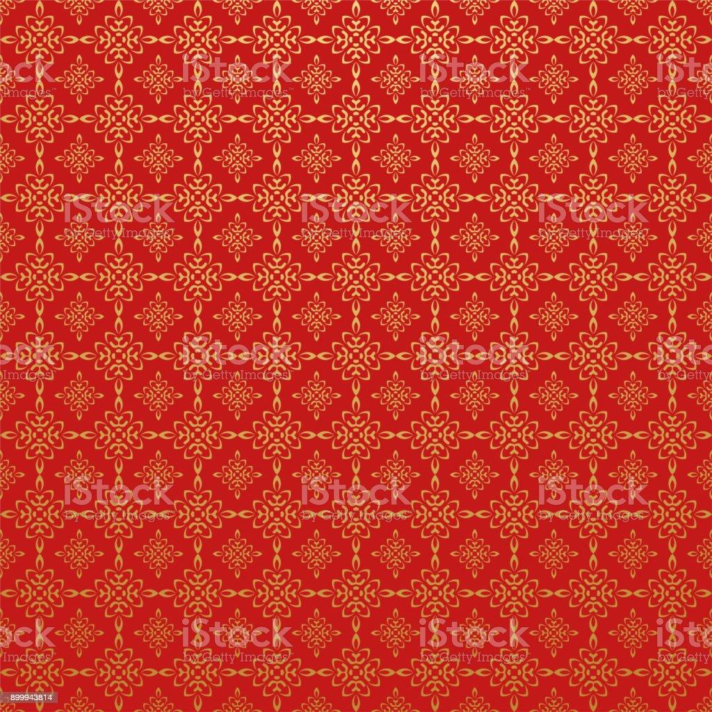 赤い壁紙アジアン スタイル お祝いのベクターアート素材や画像を多数ご用意 Istock