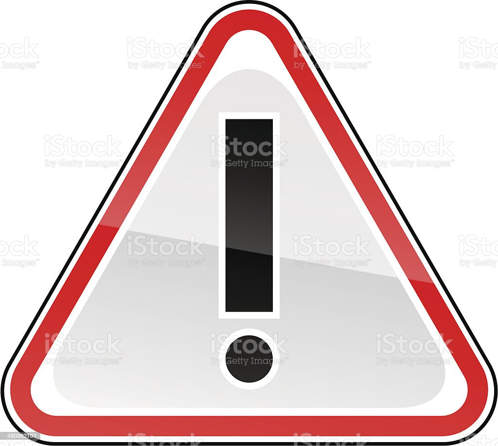 Red warning attention hazard sign exclamation mark pictogram royalty-free red warning attention hazard sign exclamation mark pictogram stock vector art & more images of advice