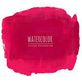 red watercolor stain background
