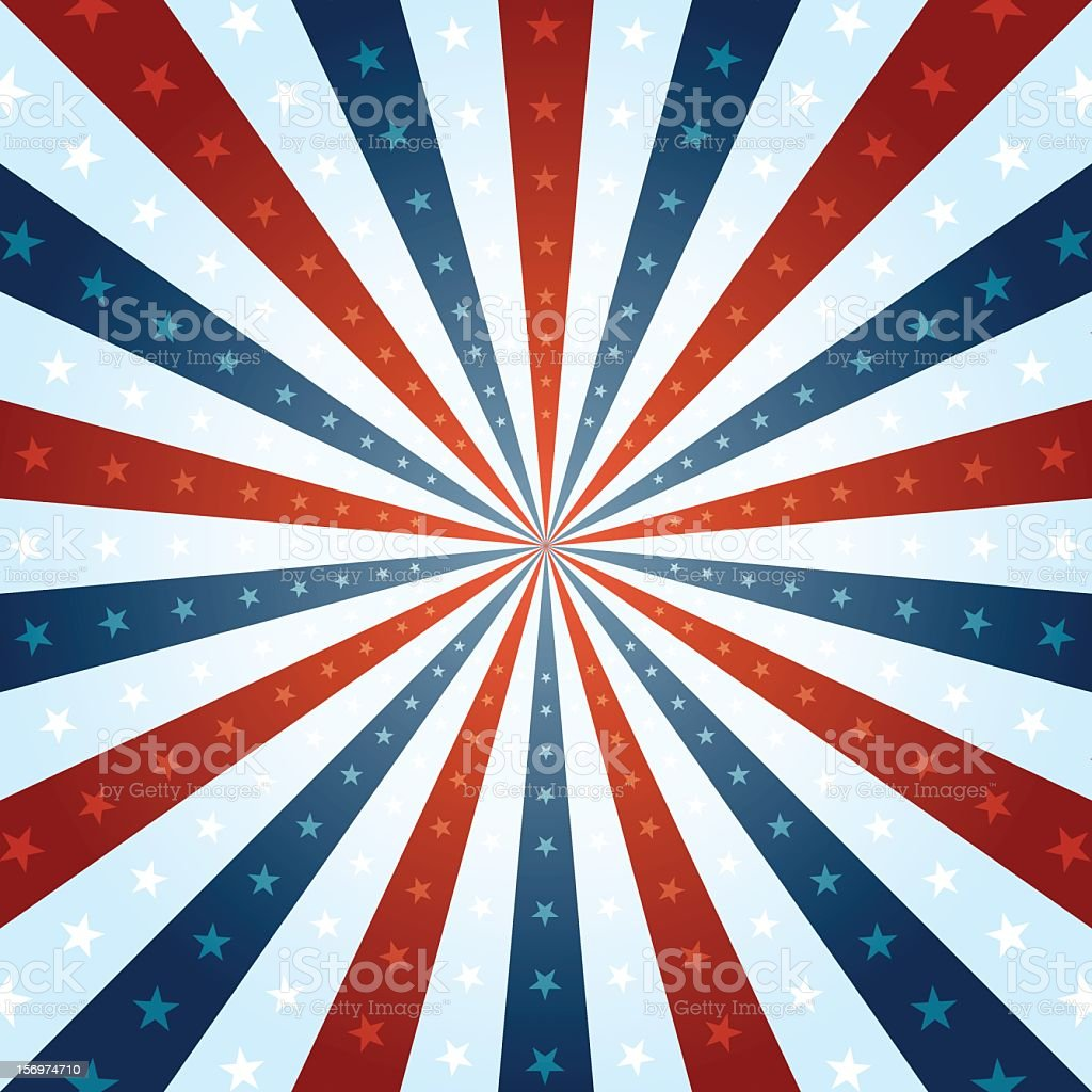 Red white and blue background with stars royalty-free red white and blue background with stars stock vector art & more images of american culture