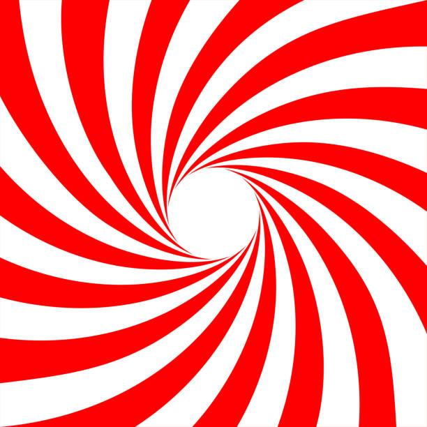 Red white swirl abstract vortex background. Vector Red white swirl abstract vortex background. Vector illustration spiral stock illustrations